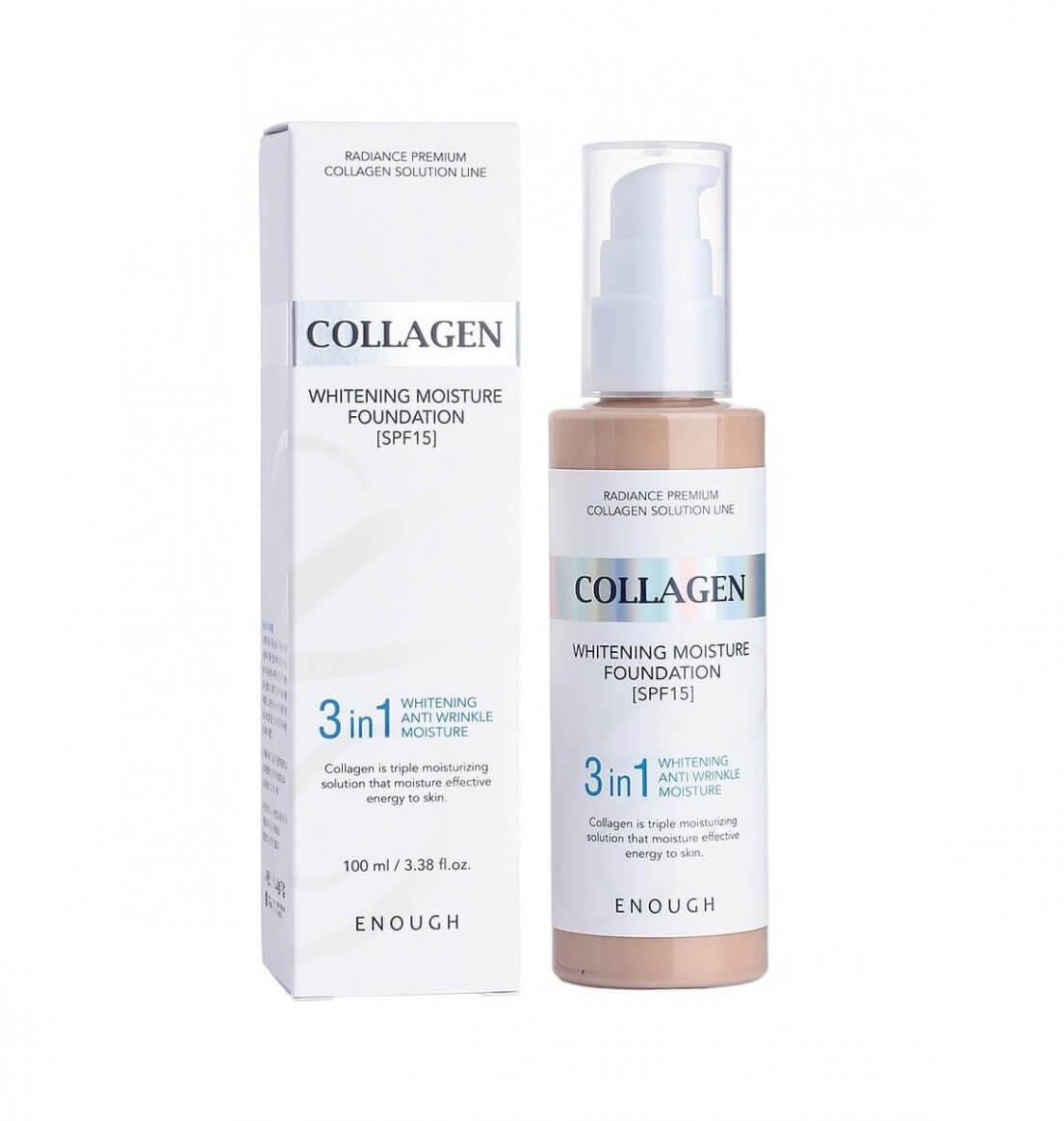 Тональный крем Enough Collagen Whitening Moisture Foundation