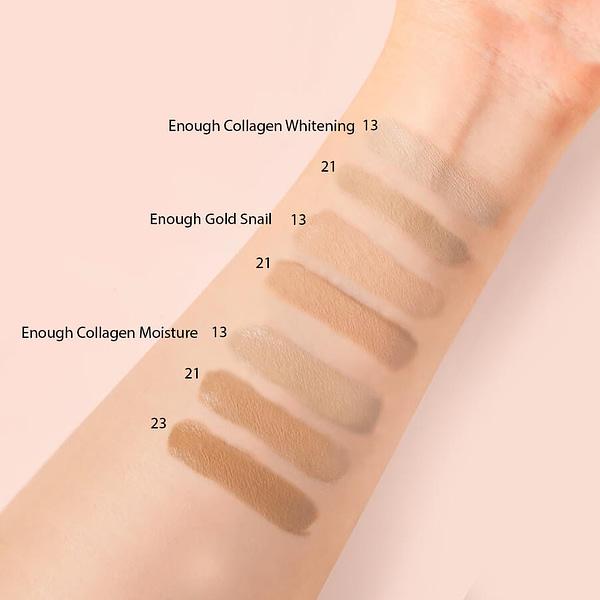 тональный крем Enough Collagen Whtening Moisture Foundation SPF15